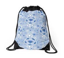 Kawaii Soccer Pattern Drawstring Bag