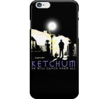Ketchum Devil Hunter iPhone Case/Skin