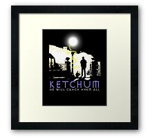 Ketchum Devil Hunter Framed Print