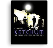 Ketchum Devil Hunter Canvas Print