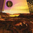 Alien Landscape #1 by Benedikt Amrhein