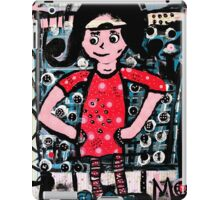 The Girl in the Red Dress iPad Case/Skin
