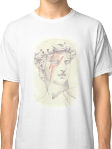 David: Michelangelo and Bowie Classic T-Shirt