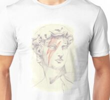 David: Michelangelo and Bowie Unisex T-Shirt