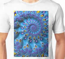 Blue and Yellow Tears Unisex T-Shirt