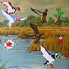 Flock of 8 bits by David Irvine