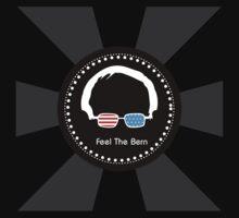 Bernie Sanders - Feel The Bern (WowBlack) Kids Tee