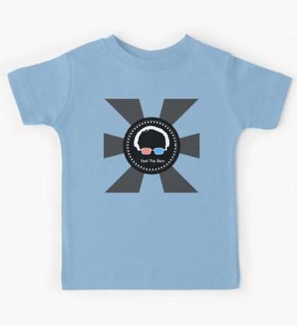 Bernie Sanders - Feel The Bern (WowBlack) Kids Tee
