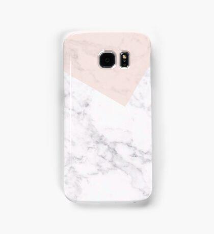 Peach marble  Samsung Galaxy Case/Skin