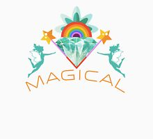 Magical : Fairies, Crystals, Rainbows, and Magic! Womens Fitted T-Shirt