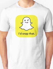 "I'd ""snap"" that.  Unisex T-Shirt"