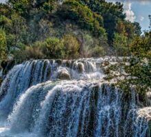 Krka Waterfalls Sticker