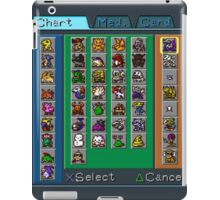 Digimon Chart iPad Case/Skin