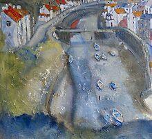 Summer Staithes by Sue Nichol