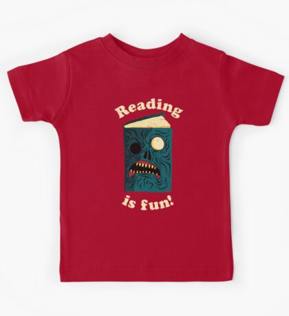 Reading is Fun Kids Tee