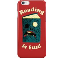 Reading is Fun iPhone Case/Skin