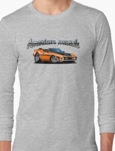 Cartoon muscle car Long Sleeve T-Shirt