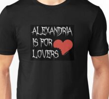 Alexandria is for Lovers (Richonne) Unisex T-Shirt