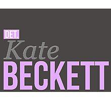 Detective Kate Beckett Photographic Print