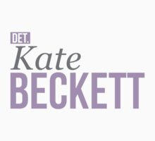 Detective Kate Beckett One Piece - Short Sleeve