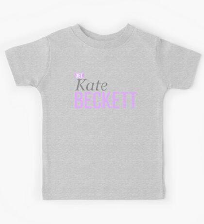 Detective Kate Beckett Kids Tee