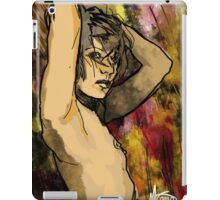 Female nude with arms up iPad Case/Skin