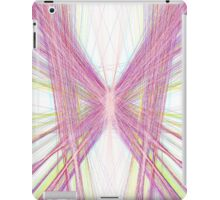 Linify Pink butterfly iPad Case/Skin