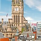 Manchester Town Hall, Panorama by Stephen Knowles