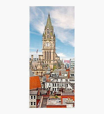 Manchester Town Hall, Panorama Photographic Print