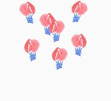 Air balloons in watercolors Mens V-Neck T-Shirt