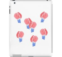 Air balloons in watercolors iPad Case/Skin
