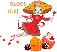 Cute cartoon fairy Photographic Print
