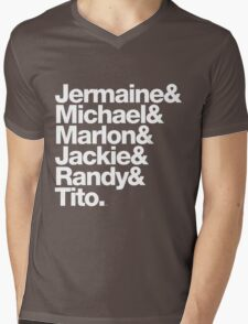 The Jacksons - Don't Forget About Randy! Mens V-Neck T-Shirt