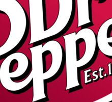 Dr. Pepper Sticker