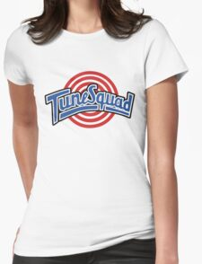 Tune Squad Jersey – Space Jam, Michael Jordan Womens Fitted T-Shirt