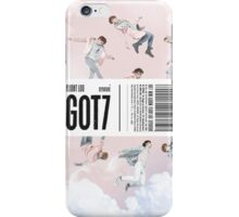 GOT7 Flight Log: Departure album cover iPhone Case/Skin