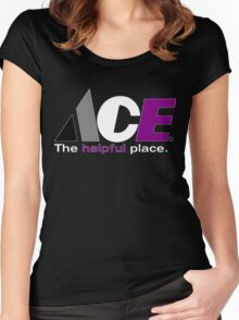Ace: The Helpful Place Women's Fitted Scoop T-Shirt