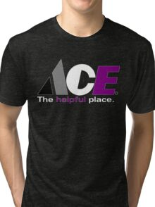 Ace: The Helpful Place Tri-blend T-Shirt