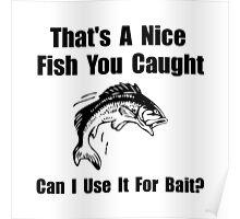 Fish Bait Poster