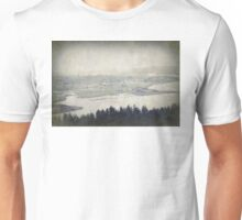 view from the Astoria Column Youngs Bay Unisex T-Shirt