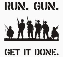 Military Get It Done One Piece - Short Sleeve