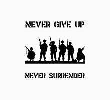 Never Give Up Military Unisex T-Shirt
