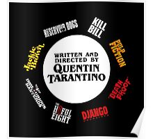 Quentin Tarantino Films (Transparent) Poster