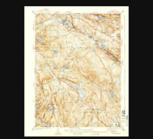USGS TOPO Map Connecticut CT Montville 330929 1939 31680 Unisex T-Shirt