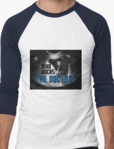 Who rocks? - The Doctor! Men's Baseball ¾ T-Shirt