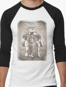 Donnie Darko, Quote and Time Travel Illustration Men's Baseball ¾ T-Shirt