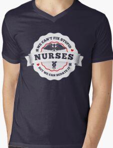 Nurse art Mens V-Neck T-Shirt