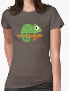 Chameleon Irony Womens Fitted T-Shirt