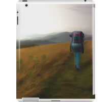 Time to wander iPad Case/Skin