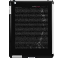Bukowski - Post Office iPad Case/Skin
